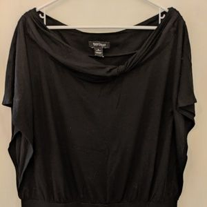 'White House Black Market' Black Blouse